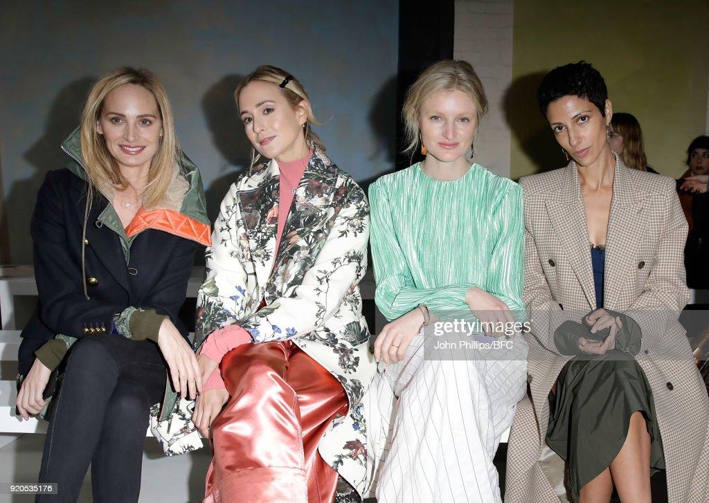 Сегодня Елизавета фон Турн-и-Таксис посетила показ Roksanda в рамках Лондонской недели моды