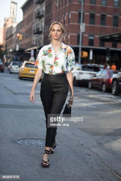Lauren Santo Domingo on September 10 2017 in New York City