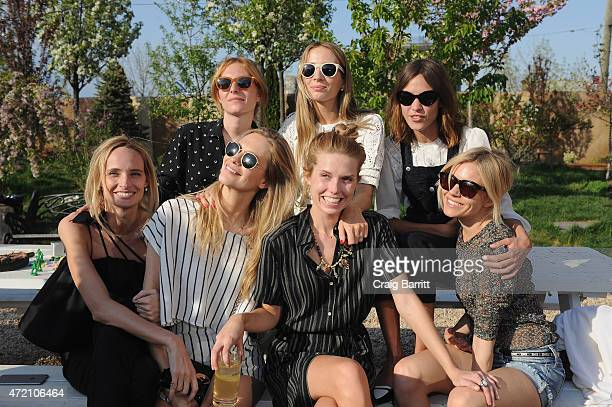 Lauren Santo Domingo Poppy Delevingne Harley VieraNewton Theodora Richards Alexa Chung and Sienna Miller attend Pioneer Works 2nd Annual Village Fete...