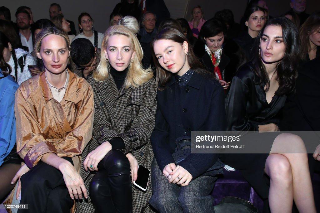 Dior: Front Row - Paris Fashion Week - Haute Couture Spring/Summer 2020 : News Photo