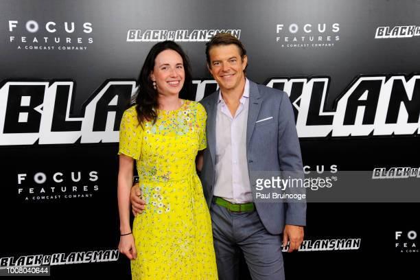 Lauren Schuker and Jason Blum attend New York Premiere Of BlacKkKlansman at Brooklyn Academy of Music on July 30 2018 in New York City