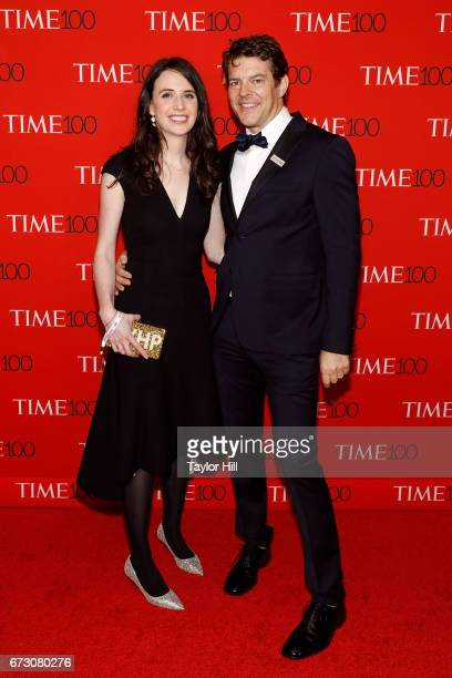 Lauren Schuker and Jason Blum attend the 2017 Time 100 Gala at Jazz at Lincoln Center on April 25 2017 in New York City