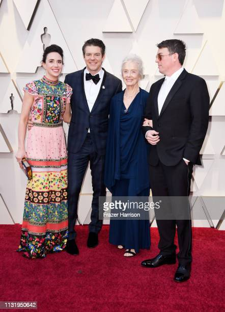 Lauren Schuker and Jason Blum attend the 91st Annual Academy Awards at Hollywood and Highland on February 24 2019 in Hollywood California