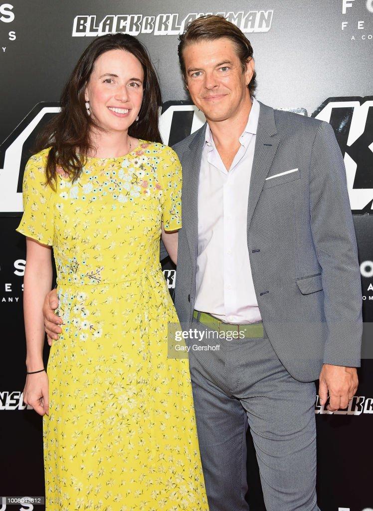 Lauren Schuker and producer Jason Blum of Blumhouse