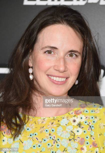 Lauren Schuker attends the BlacKkKlansman New York premiere at Brooklyn Academy of Music on July 30 2018 in New York City