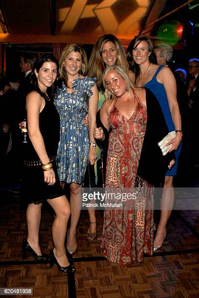 Lauren Sercander Danielle Melchione Alexia Salahabus Kelly Jones and Courtney Kirby attend The Wildlife Conservation Society's SAFARI INDIA Gala at...