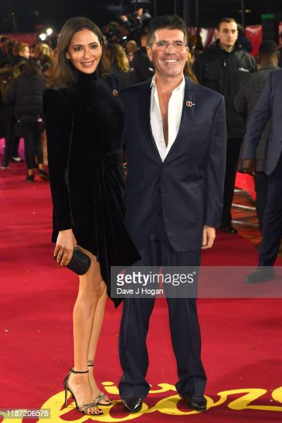 Lauren Silverman and Simon Cowell attend the ITV Palooza 2019 at The Royal Festival Hall on November 12 2019 in London England