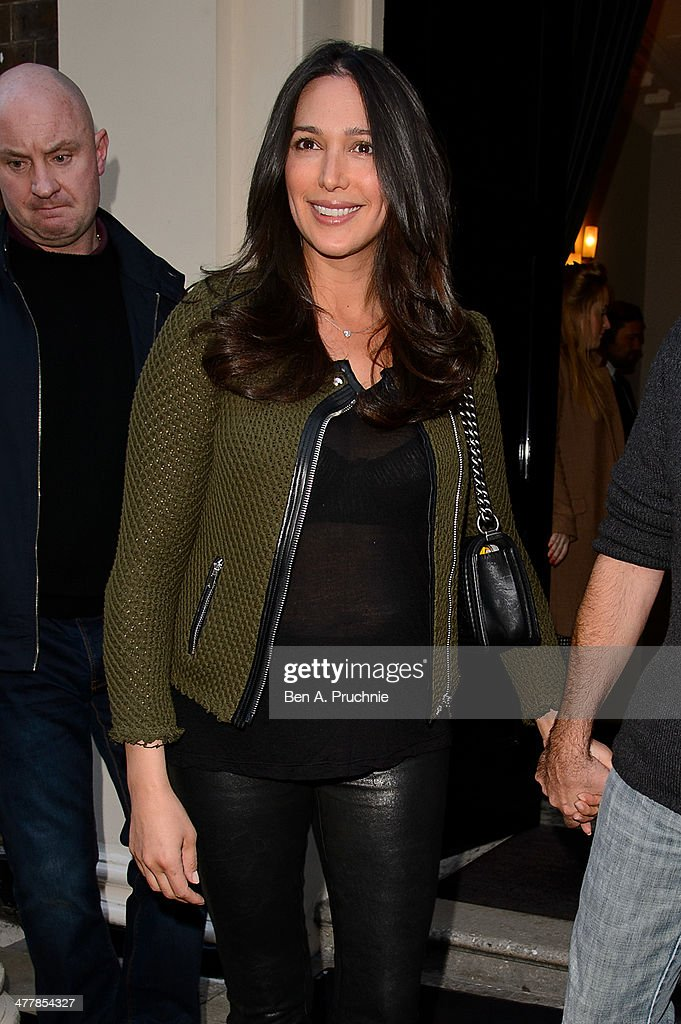 Lauren Silverman attends as Cheryl Cole announces her return to the X Factor judging panel on March 11, 2014 in London, England.