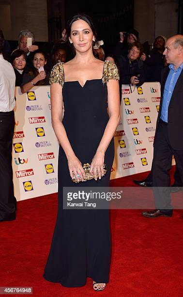 Lauren Silverman attends the Pride of Britain awards at The Grosvenor House Hotel on October 6 2014 in London England