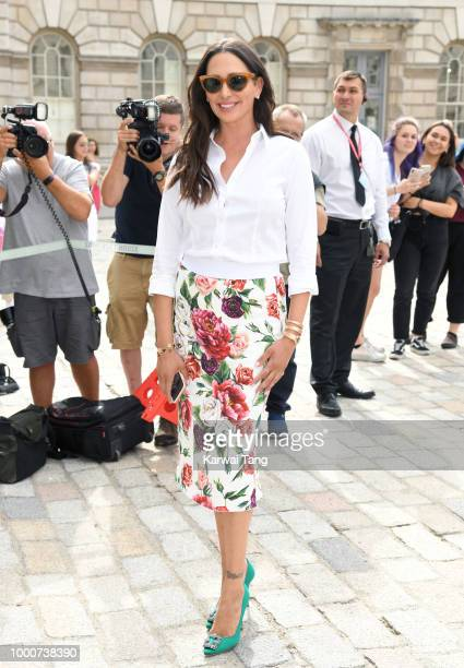 Lauren Silverman attends the X Factor 2018 Show launch at Somerset House on July 17 2018 in London England