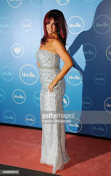 Lauren Simon of The Real Housewives of Cheshire attends the ITV BE launch at ITV Studios on October 7, 2014 in London, England.