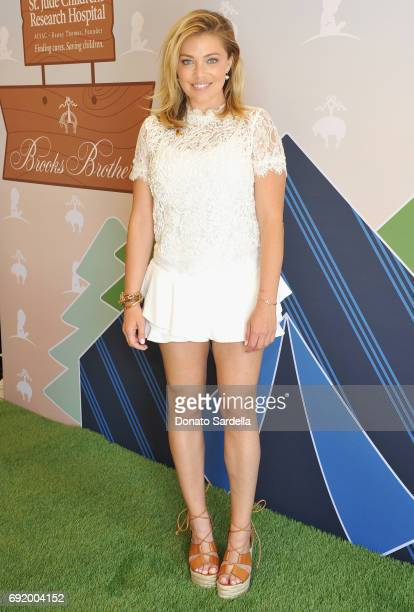 Lauren Sivan at the Brooks Brothers Beverly Hills summer camp party benefitting St Jude Children's Research Hospital at Brooks Brothers Rodeo on June...