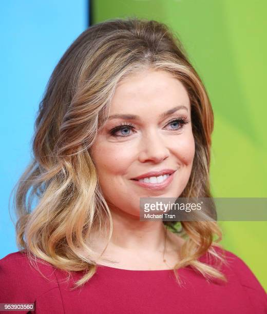 Lauren Sivan attends NBCUniversal Summer Press Day 2018 held at Universal Studios Backlot on May 2 2018 in Universal City California