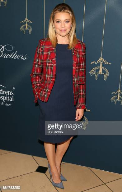 Lauren Sivan attends the Brooks Brothers holiday celebration with St Jude Children's Research Hospital at Brooks Brothers Rodeo on December 2 2017 in...