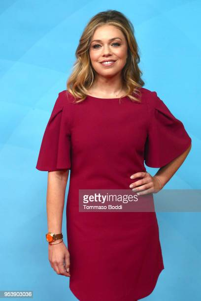 Lauren Sivan attends the NBCUniversal Summer Press Day 2018 at Universal Studios Backlot on May 2 2018 in Universal City California