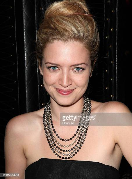 Lauren Storm attends 'Death Method' official wrap party at MyStudio Nightclub on March 17 2011 in Los Angeles California
