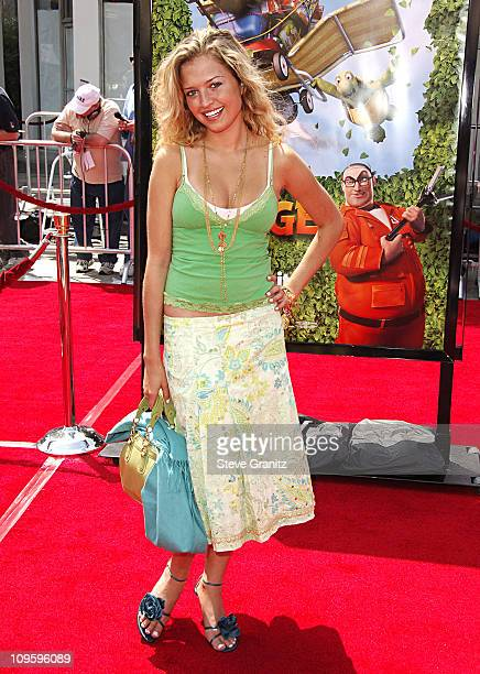 Lauren Storm during 'Over The Hedge' Los Angeles Premiere Arrivals at Mann Village Theatre in Westwood California United States