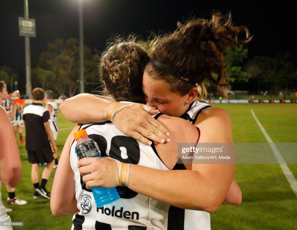 AFLW Rd 4 - Melbourne v Collingwood : News Photo