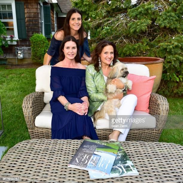 Lauren Thayer Erin Thayer Melanie Roy and Dune attend ARF Thrift Shop Designer Show House Sale at ARF Thrift Treasure Shop on May 26 2018 in...