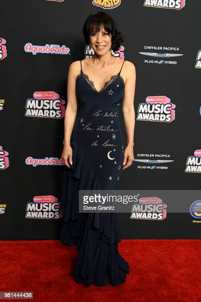 Sofian Wylie arrives at the 2018 Radio Disney Music Awards at Loews Hollywood Hotel on June 22 2018 in Hollywood California