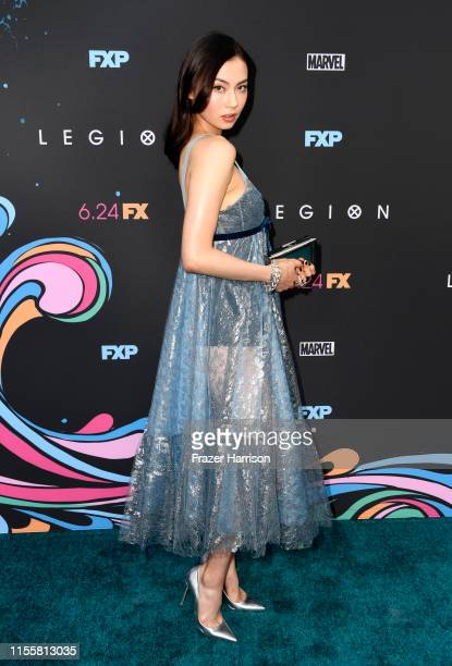 Lauren Tsai attends the LA Premiere Of FX's Legion Season 3 at ArcLight Hollywood on June 13 2019 in Hollywood California