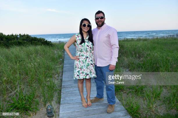 Lauren Tsuchiya and Kyle Brooten attend The 17th Annual Midsummer Night Drinks Benefiting God's Love We Deliver at Private Residence on June 10 2017...