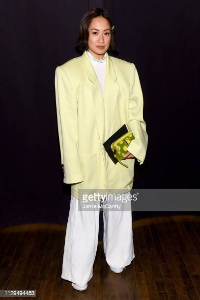 Lauren Uy attends the Marc Jacobs Fall 2019 Show at Park Avenue Armory on February 13 2019 in New York City