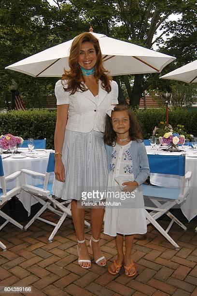 Lauren Vernon and Isabella Vernon attend DOLCE GABBANA Benefit Luncheon hosted by Jessica Seinfeld Claude Wasserstein and Stephanie Winston Wolkoff...