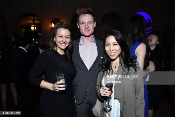 Lauren White Miles Tagtmeyer and guest attend CytoDyn's Pro 140 Awareness Event for HIV and Cancer Prevention at The Roosevelt Hotel in Hollywood on...