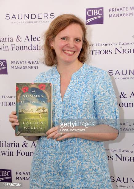Lauren Willig at the East Hampton Library's 15th Annual Authors Night Benefit on August 10 2019 in Amagansett New York