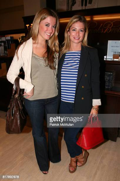 Lauren Wilsman and Caroline Curtis attend The launch of 'True Prep' at Brooks Brothers on September 14 2010 in New York