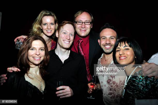 Lauren Wylie Mary Lou Berra Scott McDougall Chris Wright Micheal Angelo and Rita Nakouzi attend SOMALY MAM FOUNDATION Voices of Change Launch Event...
