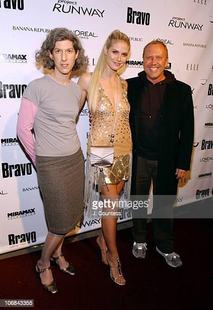 Lauren Zalaznick president of Bravo Heidi Klum and Michael Kors