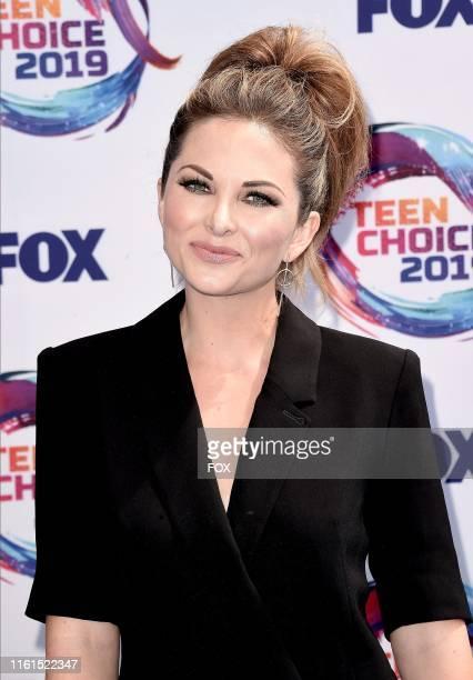 Lauren Zima arrives on the blue carpet at TEEN CHOICE 2019 airing Sunday August 11 on FOX from Hermosa Beach CA