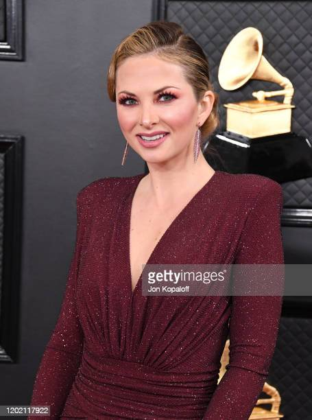 Lauren Zima attends the 62nd Annual GRAMMY Awards at Staples Center on January 26 2020 in Los Angeles California