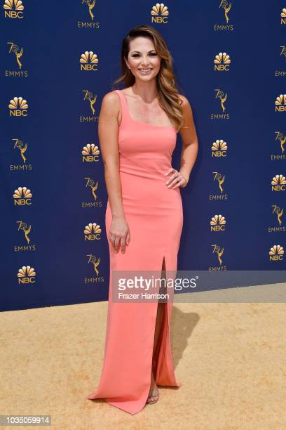 Lauren Zima attends the 70th Emmy Awards at Microsoft Theater on September 17 2018 in Los Angeles California