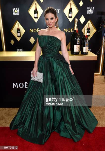 Lauren Zima attends the 77th Annual Golden Globe Awards at The Beverly Hilton Hotel on January 05 2020 in Beverly Hills California