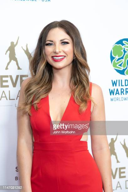 Lauren Zima attends the Steve Irwin Gala Dinner at SLS Hotel on May 04 2019 in Beverly Hills California