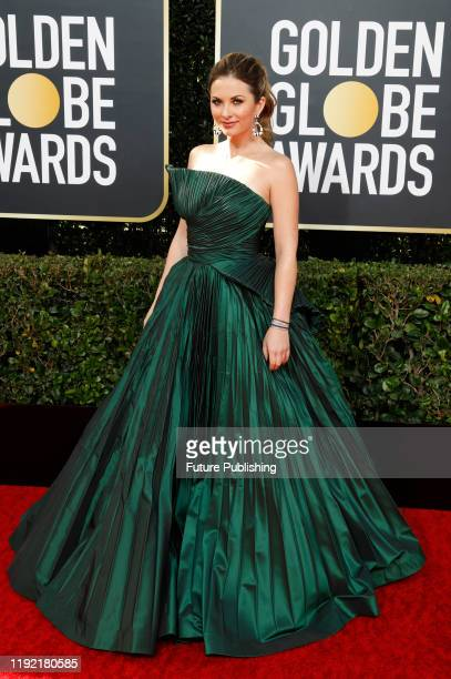 STATES JANUARY Lauren Zima photographed on the red carpet of the 77th Annual Golden Globe Awards at The Beverly Hilton Hotel on January 05 2020 in...
