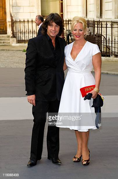 Laurence and Jackie LlewelynBowen attend The Royal Academy of Arts' Summer Exhibition Preview Party at the Royal Academy of Arts on June 2 2011 in...
