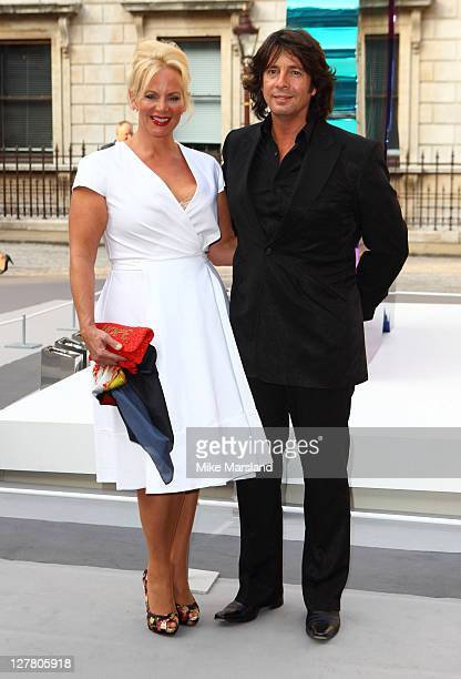 Laurence and Jackie LlewelynBowen attend The Royal Academy of Arts' Summer Exhibition Preview Party at Royal Academy of Arts on June 2 2011 in London...