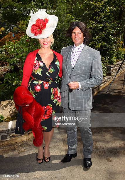Laurence and Jackie LlewelynBowen attends the Chelsea Flower Show Press and VIP Day at Royal Hospital Chelsea on May 23 2011 in London England