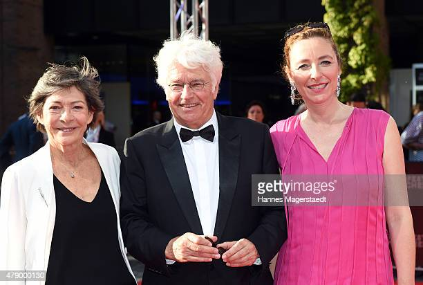 Laurence Annaud JeanJacques Annaud and Diana Iljine attend the Cine Merit Award during the Munich Film Festival at Gasteig on June 29 2015 in Munich...