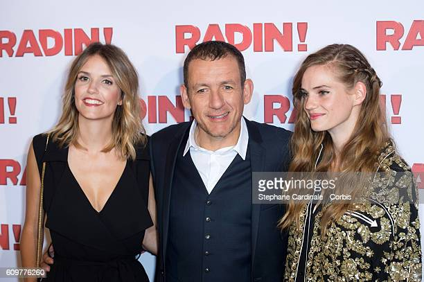 Laurence Arne Dany Boon and Noemie Schmidt attends the 'Radin' Paris Premiere at Cinema Gaumont Opera on September 22 2016 in Paris France
