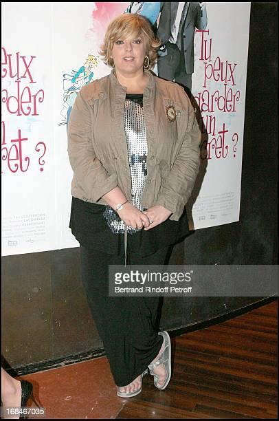 Laurence Boccolini at Paris Premiere Of The Film Tu Peux Garder Un Secret At L' Elysee Biarritz