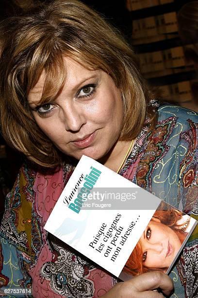 Laurence Boccolini attends the 2008 'Salon du Livre' in Paris