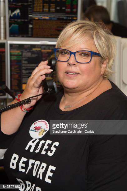 Laurence Boccolini attends the Aurel BGC Charity Benefit Day 2017 on September 11 2017 in Paris France