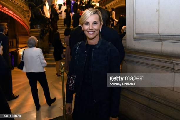 Laurence Ferrari attends Longchamp 70th Anniversary Celebration at Opera Garnier on September 11 2018 in Paris France