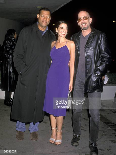 Laurence Fishburne Annabella Sciorra and Dominic Chianese Jr