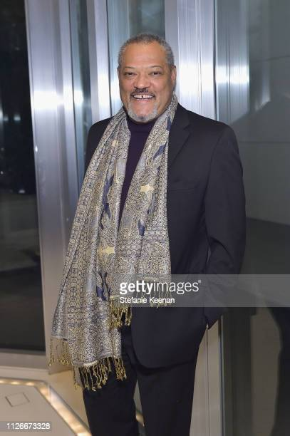 Laurence Fishburne attends the UCLA IoES honors Barbra Streisand and Gisele Bundchen at the 2019 Hollywood for Science Gala on February 21 2019 in...